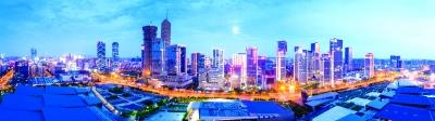 河西中央商务区:迈向高质量发展新征程